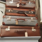 Diverse brocante koffertjes
