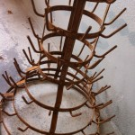 Flessenboom roest 100x50x50