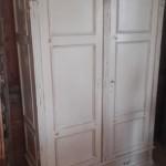 witte kledingkast 120x58x193