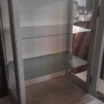 industriele glazen kast 51x31x72