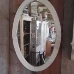 brocante ovale spiegel 72x49