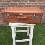 Koffer bruin